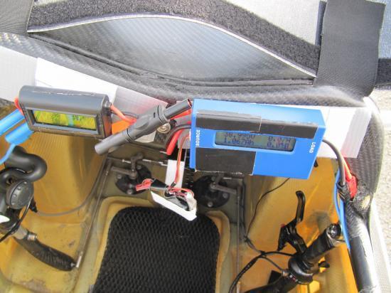 Les mesures d'énergie dans le cockpit